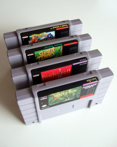 snes cartridges